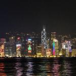 -Hong kong by night