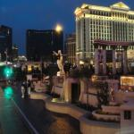 Caesars e Ballagio Las Vegas Strip