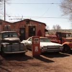 Cars on Seligman - Route 66