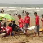 Bali - Ultima lezione di  surf in Kuta beach