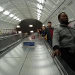 In metro'