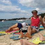 Rovigno - In spiaggia