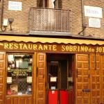 Madrid - Restaurante Botin - the oldest in the world