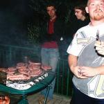 Festa in Saltaria prima del viaggione in Australia