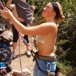 Noviziato di 2 nuove scalatrici Ele e Cin
