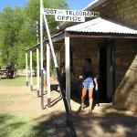 Alice Springs - il primo insediamento, il telegrafo