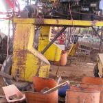 Joe and Peter Tobacco's Farm - la vecchia macchina raccogli tabacco